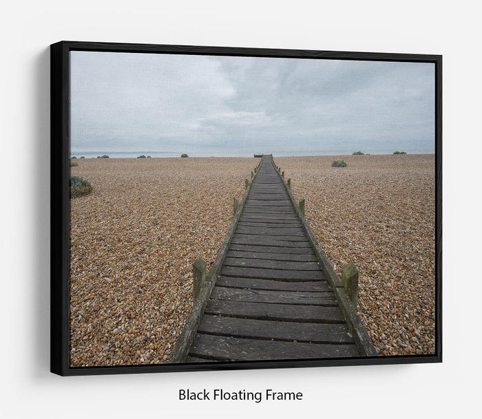 Vanishing Point Floating Frame Canvas
