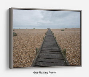 Vanishing Point Floating Frame Canvas - Canvas Art Rocks - 3