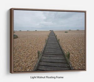 Vanishing Point Floating Frame Canvas - Canvas Art Rocks 7