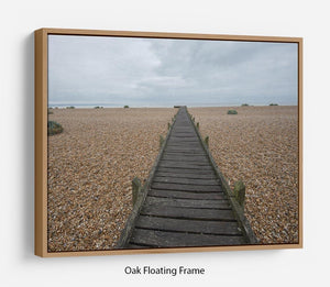 Vanishing Point Floating Frame Canvas - Canvas Art Rocks - 9