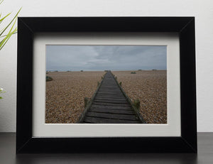 Vanishing Point Framed Print - Canvas Art Rocks - 1