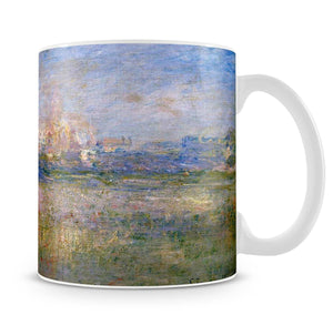 Vctheuil in the fog by Monet Mug - Canvas Art Rocks - 4