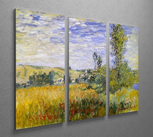 Vethueil by monet Split Panel Canvas Print - Canvas Art Rocks - 4