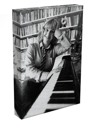 Victoria Wood at the piano Canvas Print or Poster - Canvas Art Rocks - 3