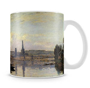 View of Rouen by Monet Mug - Canvas Art Rocks - 4