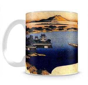 View of lake Suwa by Hokusai Mug - Canvas Art Rocks - 2