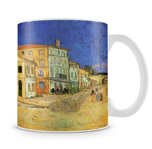 Vincent's House in Arles The Yellow House by Van Gogh Mug - Canvas Art Rocks - 4