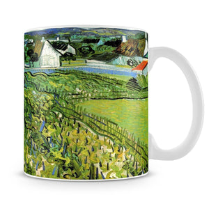 Vineyards with a View of Auvers by Van Gogh Mug - Canvas Art Rocks - 4