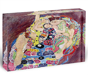 Virgins by Klimt Acrylic Block - Canvas Art Rocks - 1
