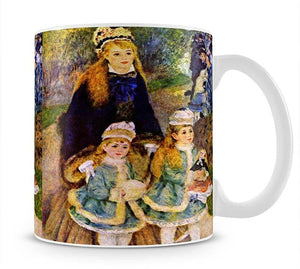 Walk 2 by Renoir Mug - Canvas Art Rocks - 1