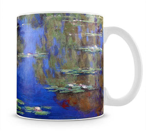 Water Lilies 6 By Manet Mug - Canvas Art Rocks - 1