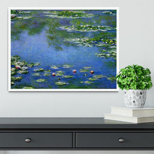 Water Lilies by Monet Framed Print - Canvas Art Rocks -6