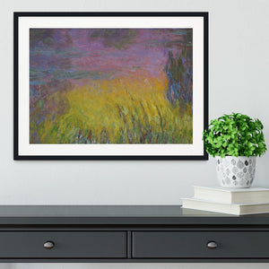 Water Lillies 12 by Monet Framed Print - Canvas Art Rocks - 1
