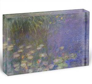 Water Lillies 13 by Monet Acrylic Block - Canvas Art Rocks - 1