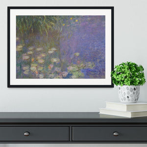 Water Lillies 13 by Monet Framed Print - Canvas Art Rocks - 1