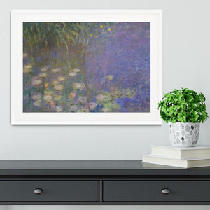 Water Lillies 13 by Monet Framed Print - Canvas Art Rocks - 5