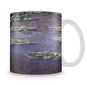 Water lilies water landscape 1 by Monet Mug - Canvas Art Rocks - 4