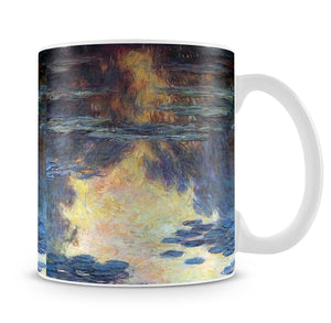 Water lilies water landscape 2 by Monet Mug - Canvas Art Rocks - 4