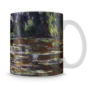 Water lilies water landscape 3 by Monet Mug - Canvas Art Rocks - 4