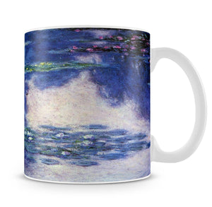 Water lilies water landscape 4 by Monet Mug - Canvas Art Rocks - 4