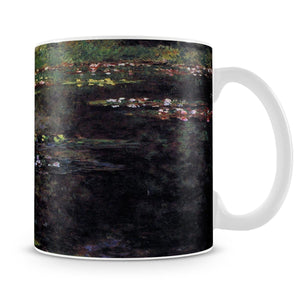 Water lilies water landscape 5 by Monet Mug - Canvas Art Rocks - 4