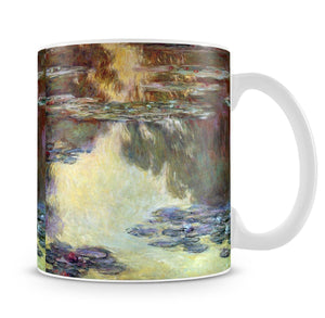 Water lilies water landscape 6 by Monet Mug - Canvas Art Rocks - 4