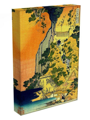 Waterfalls in all provinces by Hokusai Canvas Print or Poster - Canvas Art Rocks - 3
