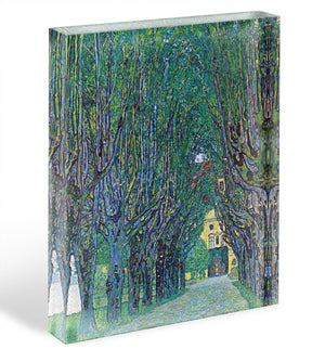 Way to the Park by Klimt Acrylic Block - Canvas Art Rocks - 1