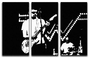 Weezer 3 Split Panel Canvas Print - Canvas Art Rocks - 1