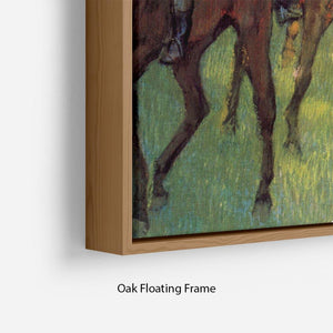Weigh out by Degas Floating Frame Canvas - Canvas Art Rocks - 10