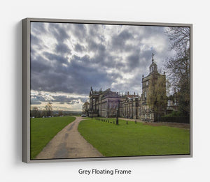 Wentworth Woodhouse Hall Floating Frame Canvas - Canvas Art Rocks - 3
