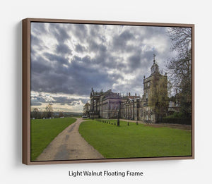 Wentworth Woodhouse Hall Floating Frame Canvas - Canvas Art Rocks 7