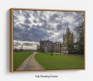 Wentworth Woodhouse Hall Floating Frame Canvas - Canvas Art Rocks - 9
