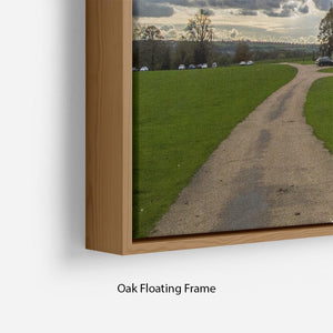 Wentworth Woodhouse Hall Floating Frame Canvas - Canvas Art Rocks - 10