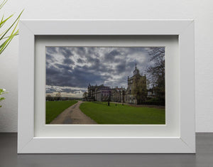Wentworth Woodhouse Hall Framed Print - Canvas Art Rocks - 3