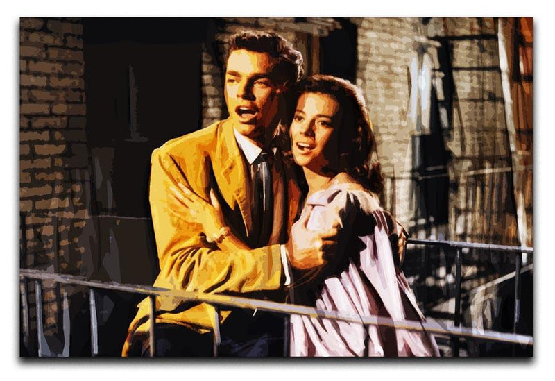 West Side Story Print - Canvas Art Rocks - 1