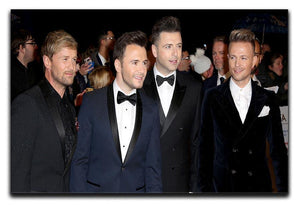 Westlife Canvas Print or Poster  - Canvas Art Rocks - 1