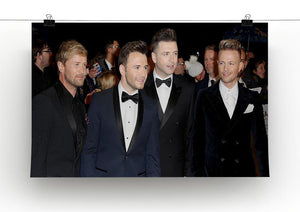 Westlife Canvas Print or Poster - Canvas Art Rocks - 2
