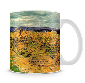 Wheat Field with Cornflowers by Van Gogh Mug - Canvas Art Rocks - 4