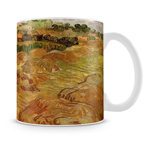 Wheat Fields with Auvers in the Background by Van Gogh Mug - Canvas Art Rocks - 4