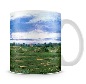 Wheat Fields with Stacks by Van Gogh Mug - Canvas Art Rocks - 4