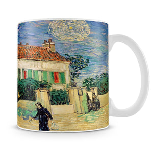 White House at Night Mug - Canvas Art Rocks - 4