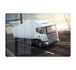 White Lorries HD Metal Print