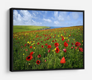 Wild Flower Meadow HD Metal Print - Canvas Art Rocks - 6