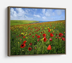 Wild Flower Meadow HD Metal Print - Canvas Art Rocks - 10