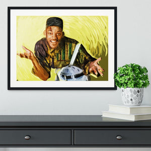 Will Smith Framed Print - Canvas Art Rocks - 1