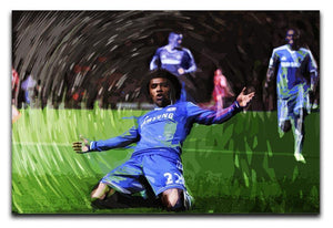 Willian Chelsea Canvas Print or Poster  - Canvas Art Rocks - 1
