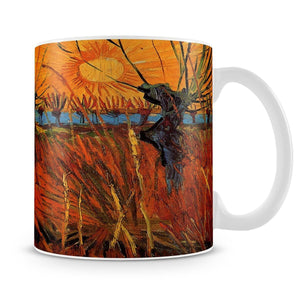Willows at Sunset by Van Gogh Mug - Canvas Art Rocks - 4