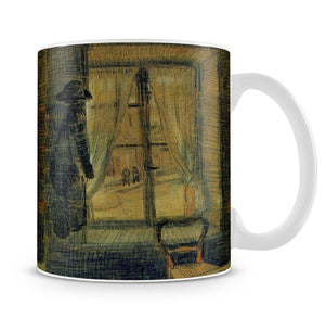 Window in the Bataille Restaurant by Van Gogh Mug - Canvas Art Rocks - 4