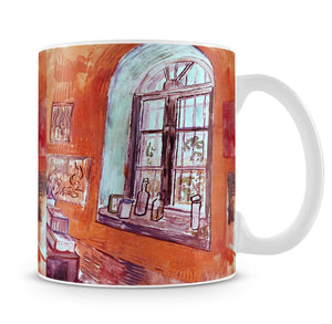 Window of Vincent s Studio at the Asylum by Van Gogh Mug - Canvas Art Rocks - 4